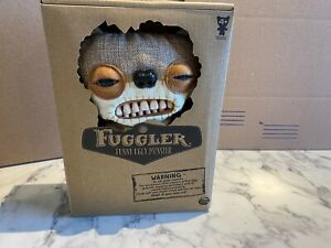 "Spin Master Fuggler  Funny Ugly Monster 9"" Chase Burlap Nightmare Bear NEW"