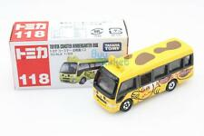 NEW Takara Tomy Tomica #118 Toyota Coaster Kindergarten Bus Diecast Toy Car