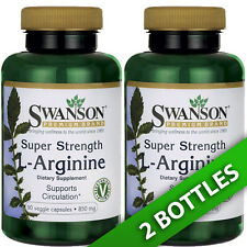 Super Strength L-Arginine 850 mg 2X90 Veg Caps by Swanson