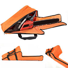 Portable Chainsaw Bag Saw Carry Case Protective Holdall Chain Saw Box Orange AC