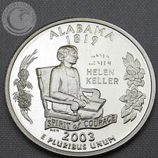 2003-S BU ALABAMA STATE QUARTER - PROOF CAMEO GEM