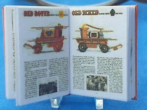 1:12 Scale Book, Fire service History U.S.A, Crafted by ken Blythe