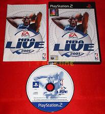 NBA LIVE 2001 Ps2 Versione Ufficiale Italiana 1ª Edizione ○○ COMPLETO - EQ