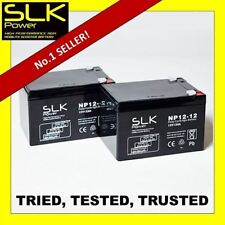 2 12v 12AH SLK MOBILITY SCOOTER DEEP CYCLE BATTERIES - SMALL MOBILITY SCOOTERS
