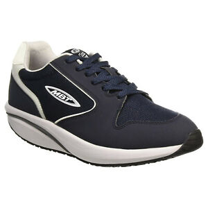 MBT Womens Trainers MBT-1997 Classic Lace-Up Low-Top Leather Textile