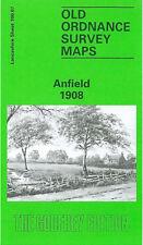 Old Ordnance Survey Mappa Anfield 1908