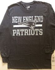 NFL Men New England Patriots Shirt Football Team Apparel Size M NEW NWT 🏈 GRAY