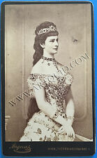 "Carte de visit, Empress Elisabeth ""Sisi"" from Austria, Photo, Sissi, CDV!"
