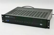 Nuvo NV-I8GM Concerto Whole Home Audio Amplifier Amp System 6-Source 8-Zone