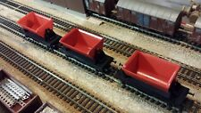 Lot de 3 wagons bennes basculantes ROCO échelle H0