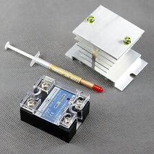 SSR-40A DD DC-DC Solid State Relay 3-32V Control DC 5V-110V 24V 36V w/ Heat Sink