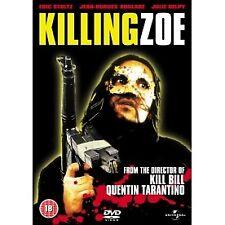 Eric Stoltz Julie Deply Killing Zoe 1994 Tarantino Cult Crime Film UK DVD