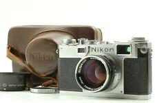 【MINT w/ Case】Nikon S2 Rangefinder Film Camera w/ SC 50mm f/ 1.4 Lens from JAPAN