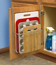 Over The Door Pantry Organizer Rack Kitchen Storage Cabinet Holder Sheet Board