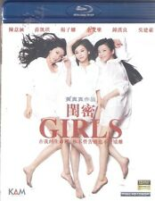 Girls Blu Ray Ivy Chen Fiona Sit Vanness Wu Barbara Wong NEW Eng Sub