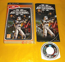 STAR WARS BATTLEFRONT II 2 Psp Versione Italiana Essentials ○○○○ COMPLETO - AT