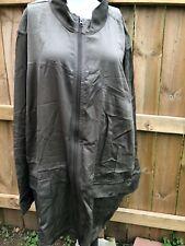 J. Jill Womens Size 4X Peat zip front Long Barn Chore Jacket MSRP $159