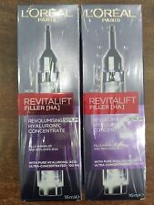 Loreal Revitalift Filler (HA) Revolumising Serum 16ml x 2