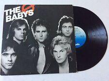THE BABYS Union Jacks/ orig. 1980 US vinyl LP NM +bonus Jonathan Cain John Waite