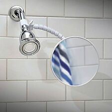 Anti Fog Bath room Mirror Shower head fog free shaving clear view flexible arm