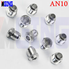 AN10 -10 AN AN -10 Male NPT Car Performance Weld plug Bung Fitting Adaptor SILVE
