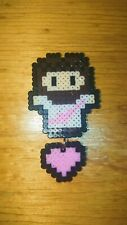 Perler Beads Jesus Love You Christian Handmade Artwork Handcraft