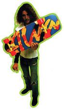 Alva Skates TA Splatter Skateboard Sticker - Green edge old school skateboarding