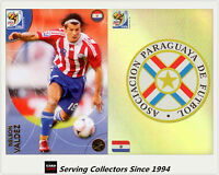 2010 Panini South Africa World Cup Soccer Cards Team Set Paraguay (2)