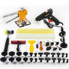 PDR Débosselage Réparation Puller colles+Paintless Réflecteur Peinture Outil Kit