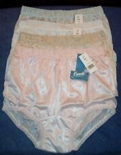 4 Pair Lace Elastic 100% Nylon Assorted Panties Size 9 Carole Panty USA Made