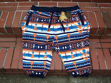 *BRAND-NEW* Decibel NAVAJO Print Multi-Colors Jogger Men's Shorts Size 2XL/XXL