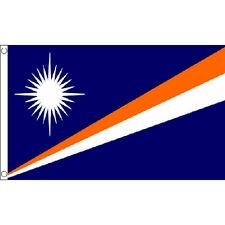Marshall Islands Flag 5Ft X 3Ft Pacific National Country Banner With 2 Eyelets