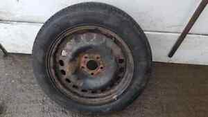 """VAUXHALL ZAFIRA GSI TURBO SPARE WHEEL 16"""" EXCELLENT TYRE 2004"""
