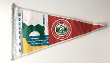 Vintage 1950s Camping Club of Great Britain Pennant Flag DORSET DA 1952