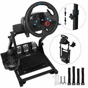 Racing Steering Wheel Stand for Logitech G25, G27, G29, G920 Heavy Duty