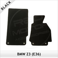 BMW Z3 E36 1995-2003 4-eyelets Tailored Fitted Carpet Car Floor Mats BLACK