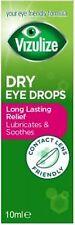Vizulize Dry Eye Drops 10ml | Sodium Hyaluronate 0.1% | **FREE POST**