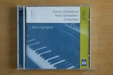 Sydney International Piano Competition 2000 - Solo Highlights  (Box C292)