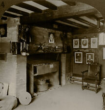 Keystone Stereoview of Shakespeare's Living Room, England Scarce 1930's Set #84