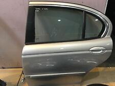 JAGUAR X TYPE (2006) - N/S PASSENGER REAR DOOR IN SILVER