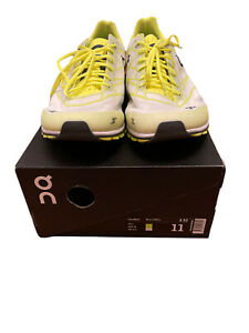 On Cloud Cloudflash Athletic Running Walking Shoes Mens Size 11 Neon White Box