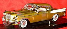 Studebaker golden Hawk Hardtop coupe 1957-58 golden metallic 1:18 Anson
