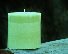 JASMINE BLOSSOMS & CHINESE GREEN TEA Natural Oval Candle 80 hour TRIPLE SCENTED