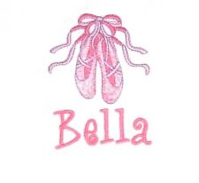 Personalized Ballerina Dancer Dance Ballet Slippers NAME and BIRTHDAY Shirt GIFT