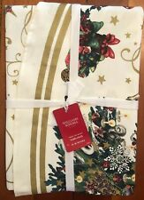NWT Williams Sonoma 'twas The Night Before Christmas Tablecloth. 70 Inch Round