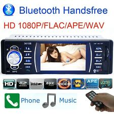 "3.6"" HD Car Stereo Audio Radio Bluetooth MP3 FM/USB Head Unit Rearview Camera"