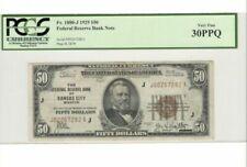 Calificación de billetes PCGS