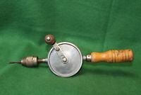 Antique Vintage THOR USA Eggbeater Hand Drill Brace w/(1) Bit Inv#SC15