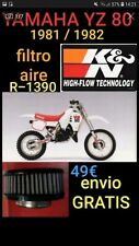 FILTRO AIRE K&N YAMAHA YZ80