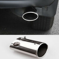1pcs Chrome Tailpipe Exhaust Muffler Tail Pipe Tip For RAV4 2013-2018